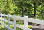 Celebration White Fence